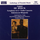 Boeck: Symphony in G Major / Violin Concerto