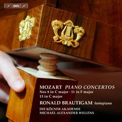 Mozart – Piano Concertos Nos 8, 11 & 13