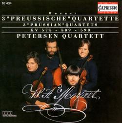 Mozart, W.A.: String Quartets Nos. 21-23,