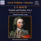 Bach, J.S.: Sonatas and Partitas (Menuhin) (1934-1944)