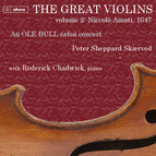 The Great Violins, Vol. 2: Niccolò Amati