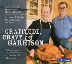 Gratitude, Gravity & Garrison