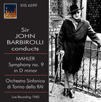 Sir John Barbirolli Conducts Mahler Symphony No. 9 (1960)