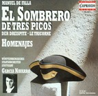 Falla, M.: The 3-Cornered Hat / Homenajes / Danza