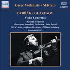 Dvorak / Glazunov: Violin Concertos (Milstein) (1949-1951)
