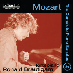Mozart - Complete Solo Piano Music, Vol.5