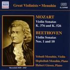 Mozart / Beethoven: Violin Sonatas (Menuhin) (1929-1947)