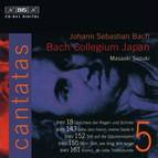 J.S. Bach - Cantatas, Vol.5 (BWV 18, 143, 152, 155, 161)