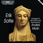 Satie - Music arranged for Alto Guitar