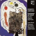 Gerhard: Cancionero de Pedrell