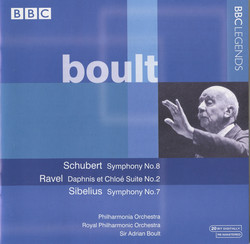 Boult - Schubert, Ravel, Sibelius