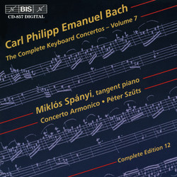 C.P.E. Bach - Keyboard Concertos, Vol.7
