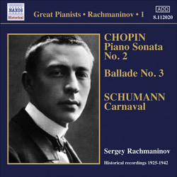 Rachmaninov, Sergei: Piano Solo Recordings, Vol.  1 - Victor Recordings (1925-1942)