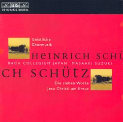 Schütz - Geistliche Chormusik