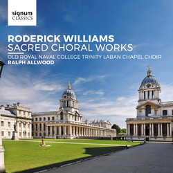 Roderick Williams: Sacred Choral Works