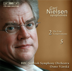 Carl Nielsen - Symphonies 2 ´The Four Temperaments´  &  5