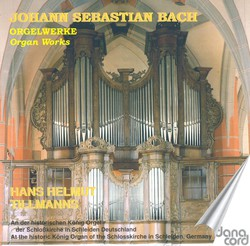 Bach, J.S.: Organ Music, Vol. 8
