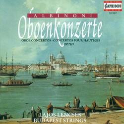 Albinoni, T.G.: Oboe Concertos - Opp. 7, 9