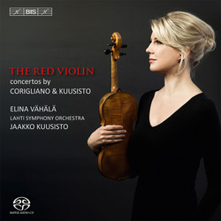 The Red Violin – Concertos by Corigliano & Kuusisto