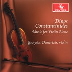 Constantinides: Music for Violin Alone