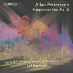Pettersson - Symphonies 8 & 10