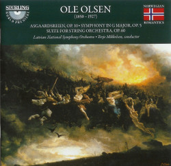 Olsen, Ole: Asgaardsreien, Symphony in G, Suite for string orchestra