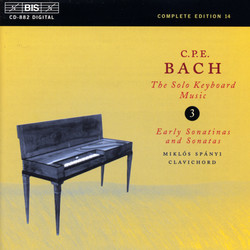 C.P.E. Bach: Solo Keyboard Music, Vol. 3