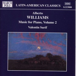 Williams: Piano Music, Vol.  2