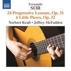 Sor: 24 Progressive Lessons, Op. 31 - 6 Little Pieces, Op. 32