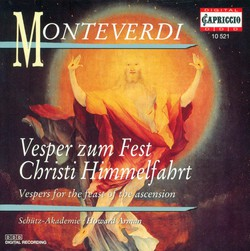 Monteverdi, C.: Vespers for the Feast of the Ascension