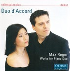 Reger, M.: 6 Pieces, Op. 94  / 6 Burlesken, Op. 58 / Variations and Fugue On A Theme of Beethoven, Op. 86 (Works for Piano Duo) (Duo D'Accord)