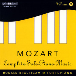 Mozart - Complete Solo Piano Music, Vol.9