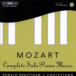 Mozart - Complete Solo Piano Music, Vol.10