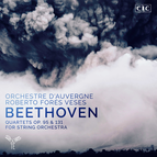 Beethoven: Quartets, Op. 95 & 131 for String Orchestra