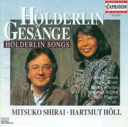 Vocal Recital: Shirai, Mitsuko - Ullmann, V. / Eisler, H. / Komma, K.M. / Reutter, H. / Cornelius, P. / Jarnach, P. / Hauer, J.M. / Pfitzner, H.