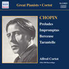 Chopin: 24 Preludes / 3 Impromptus (Cortot, 78 Rpm Recordings, Vol. 1) (1926-1950)