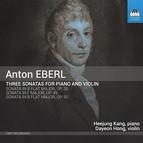 Eberl: 3 Violin Sonatas