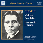 Chopin: Waltzes Nos. 1-14 / Fantasie (Cortot, 78 Rpm Recordings, Vol. 2) (1933-1949)