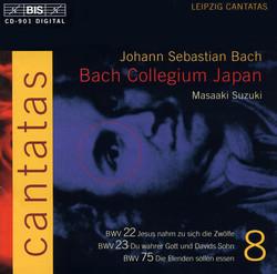 J.S. Bach - Cantatas, Vol.8 (BWV 22, 23, 75)