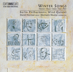 Winter Songs for wind quintet