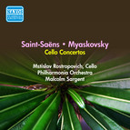 Saint-Saens, C.: Cello Concerto No. 1 / Myaskovsky, N.: Cello Concerto (Rostropovich) (1956)