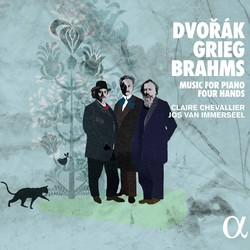 Dvořák, Grieg & Brahms: Music for Piano Four Hands