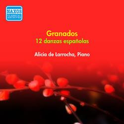 Grandos, E.: 12 Danzas Espanolas (Larrocha) (1954)