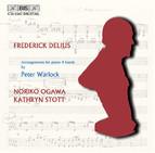 Delius - Arrangements for piano 4 hands by Peter Warlock