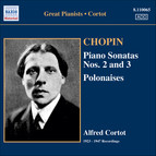 Chopin: Piano Sonatas No. 2 and 3 / Polonaises (Cortot, 78 Rpm Recordings, Vol. 4) (1923-1947)