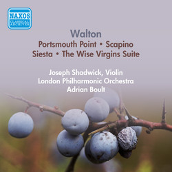 Walton, W.: Portsmouth Point / Scapino / Siesta / The Wise Virgins Suite (London Philharmonic, Boult) (1954)