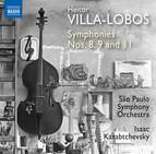 Villa-Lobos: Symphonies Nos. 8, 9 & 11