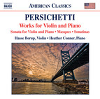 Persichetti: Works for Violin & Piano