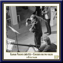 Visconti: Concerto for 2 Violins in B-Flat Major
