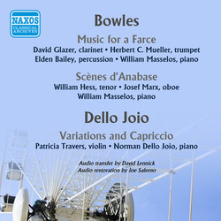 Bowles: Music for a Farce - Scenes d'Anabase - Dello Joio: Variations and Capriccio (1952)